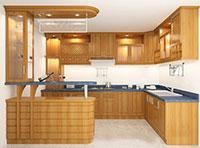 Thi công tủ bếp